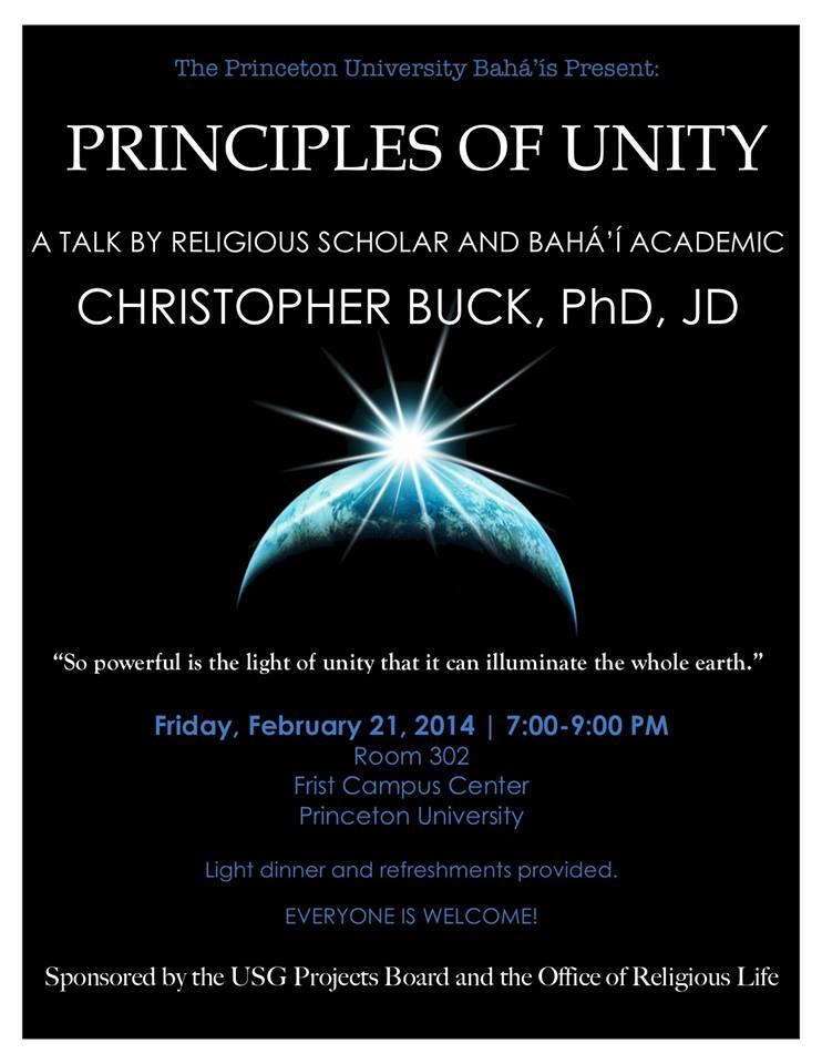 Buck_2014_Princeton_Event